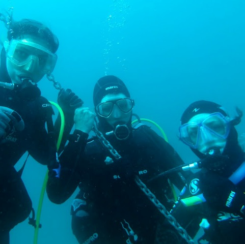 Premières bulles en mer et 2nd week-end préparatoire N4 à Marseille